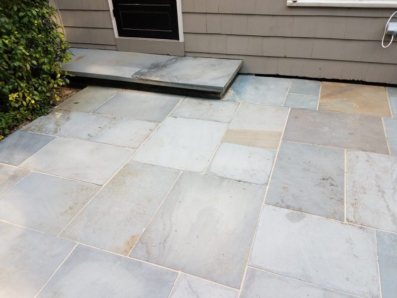 Power wash patio after picture Rochester ny