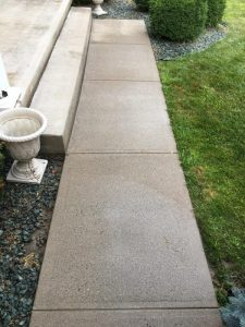 concrete cleaning after victor, ny