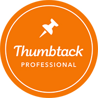 Thumbtack badge