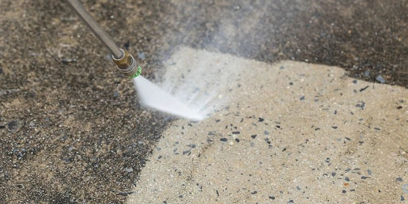 power washing concrete Rochester NY