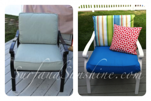Pressure washed patio furniture Rochester NY