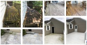 Space Clean Pressure washing pictures