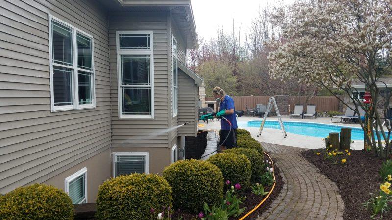 Washing House Siding