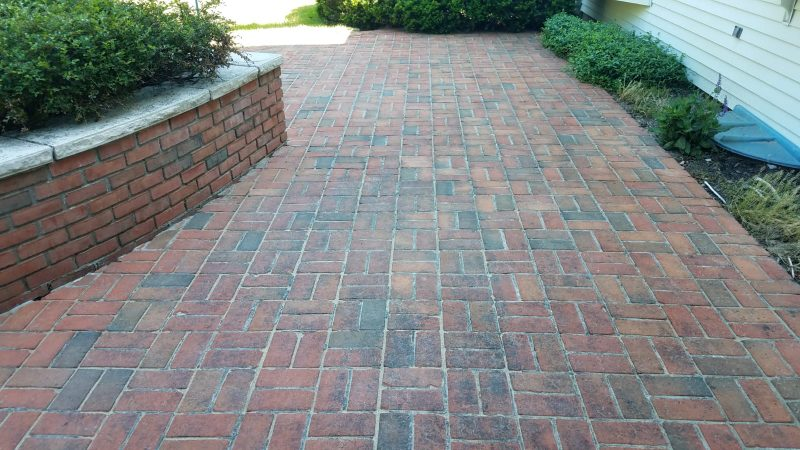 Pittsford, NY Brick Paver Pressure Washing