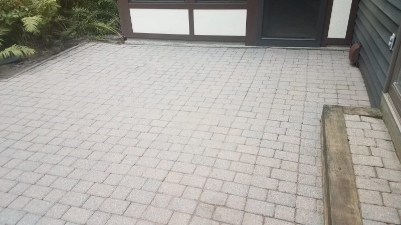 Paver Patio Pressure Washing Rochester NY